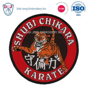 Martial Art Embroidery - Custom Badge pictures & photos
