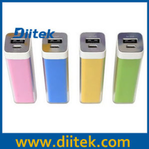 Lip Gloss Power Bank with 2600mAh