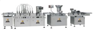 Automatic Pharmaceutical Transfusion Liquid Filling Production Line with Ce pictures & photos