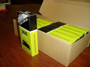 Office Staple 26-6 Box pictures & photos