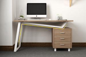 Office Desk with Filing Cabinet for Workstation System Use pictures & photos