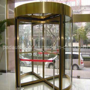 Factory Price Security 4-Wing Revolving Door for Commercial Center pictures & photos