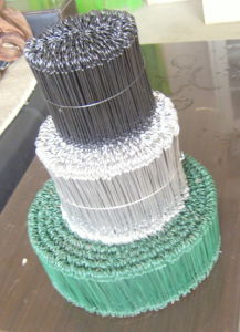 PVC Coated Wire Loop Ties pictures & photos