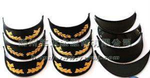 Dark Blue Bucket Cap with Metal Seal Belt pictures & photos