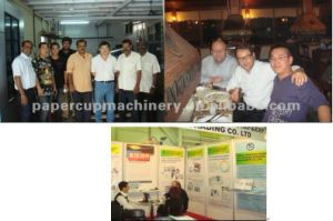 Paper Cup Printing Die Cutting Machine pictures & photos