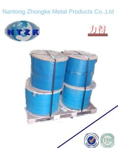 Galvanized Steel Wire Rope Metal Label (6*19+FC) pictures & photos