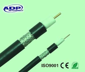 Hot Sale for TV Cable Satellite Cable 1.02mm CCS Bc RG6 Coaxial Cable pictures & photos