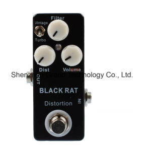 Black Rat Distortion Custom Mini Guitar Effect Pedal (JF-102) pictures & photos