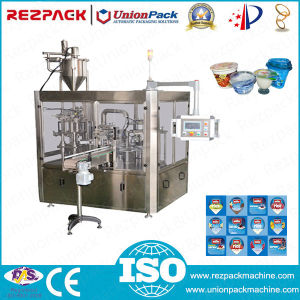 Rotary Plastic Triple Cup Filling and Sealing Machine (RZ-3R) pictures & photos