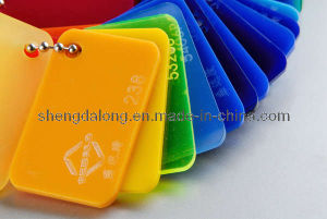 Colored Cast Acrylic Board PMMA Sheet pictures & photos