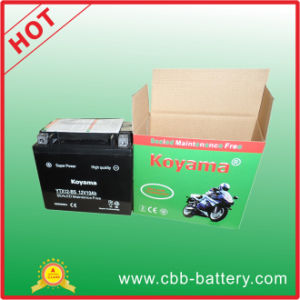 Ytx12-Bs-12V10ah Motor Battery pictures & photos