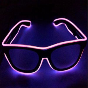 Sound Sensitive LED EL Wire Sunglasses pictures & photos