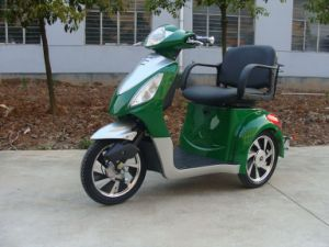 Mobility Scooter Es-008b Green/Sliver