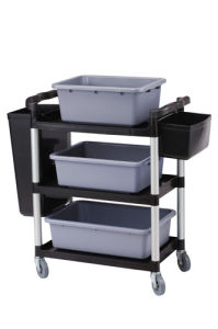 Service Trolley A (GX-032A-Black Demonstration Picture)