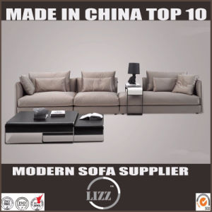 Modern Design Sectional Genuine Leather Feather Sofa pictures & photos