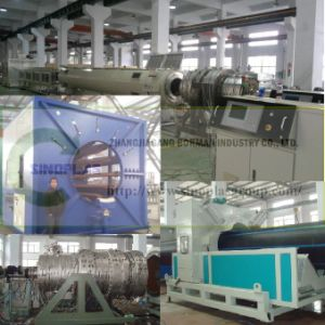 HDPE Pipe Line/ PE Pipe Line/ PE Pipe Production Line/ PE Pipe Extrusion Line/ PE Pipe Making Machine/ PE Tube Making Machine/ PE Pipe Machinery16-1600mm pictures & photos
