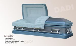American Style Metal Casket (18148155) pictures & photos