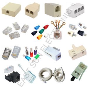 Rj11,Rj12,RJ45 Telephone Adapter (4P4C,6P4C,8P8C)