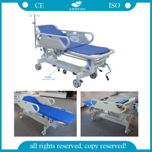 Hospital Manual Transfer Stretcher (AG-HS002) pictures & photos