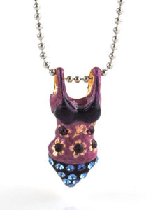 Newest Enemal Lady Swimwear Necklace Pendant (1105106)