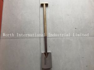 T Wood Handle Stainless Shovel pictures & photos