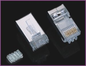 RJ45 FTP Connector with Plastic pictures & photos