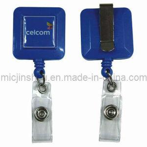 Badge Reel With Custom Logo