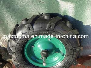Wheelbarrow Tyre / Pneumatic Wheel Barrow Wheel/ 4.00-8 Rubber Wheel for Greece Market pictures & photos