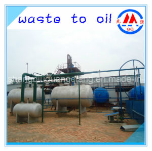 Latest Technology Crude Oil to Diesel or Gasoline Recycling Distillation Plant with CE ISO SGS