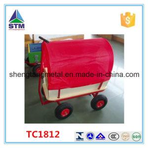 Wood Children Wagon Tool Cart Kids Wagon