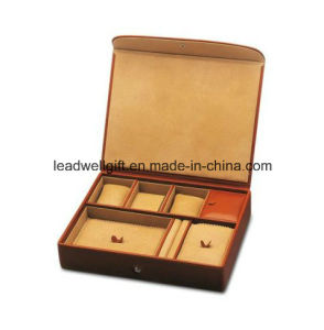 Large Leather Jewelry and Watch Box pictures & photos