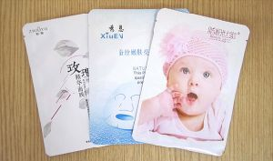 High Quality Cosmetic Aluminum Foil Facial Mask Sachet Packaging Bags pictures & photos