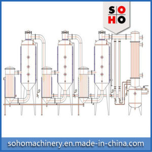 Stainless Steel Vacuum Film Nacl Salt Sugar Crystallizer Evaporator pictures & photos