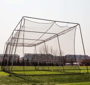 Twisted Poly Batting Cage Net and Frame 30X12X10 pictures & photos