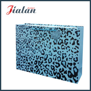 Leopard Print Customize Logo Cheap Wholesales High Quality Paper Bag pictures & photos