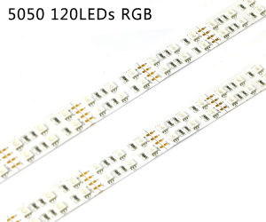 5050 RGB Color 120LED/M LED Strip with UL pictures & photos