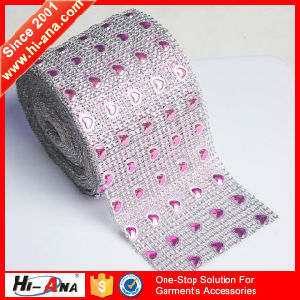 20 New Styles Monthly Cheaper Rhinestone Mesh Trimming pictures & photos