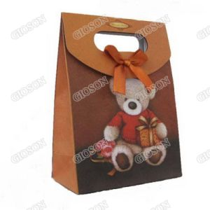 Bear Patterened Paper Shopping Bag/ Carrier Bag pictures & photos