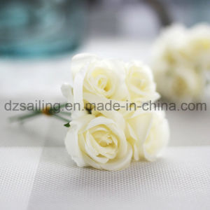 Sweet Rose Bouquet Artificial Flower Used for DIY and Decoration (SW99002)