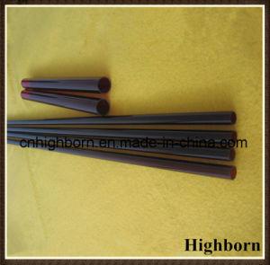 Heat Resistance Dark Red Silica Quartz Glass Tubing pictures & photos