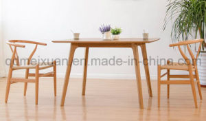 Solid Wooden Dining Table Living Room Furniture (M-X2910) pictures & photos