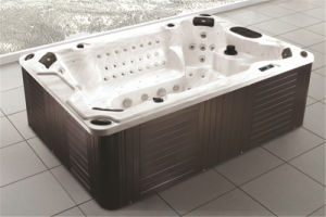 Monalisa 8 Seats Large Plastic Warranted Stainless Steel Jets SPA pictures & photos