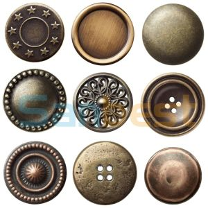 Fancy Round Metal Buttons for Denims Garments pictures & photos