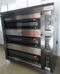 Bread Making Machine Electric Deck Oven for Bread with Steam (ZMC-309D) pictures & photos