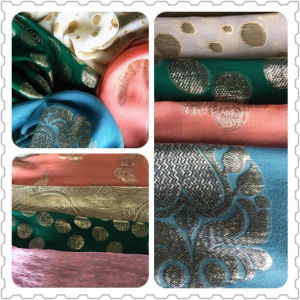 Silk&Metallic Jacquard pictures & photos