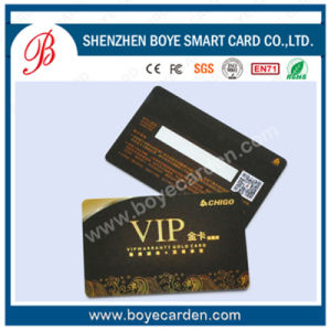 13.56MHz Contactless Signature VIP Smart Card pictures & photos