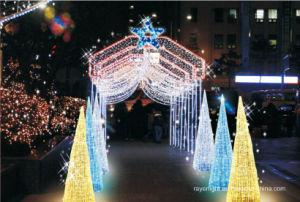 LED Motif Curtain Light Christmas Outdoor Decoration pictures & photos