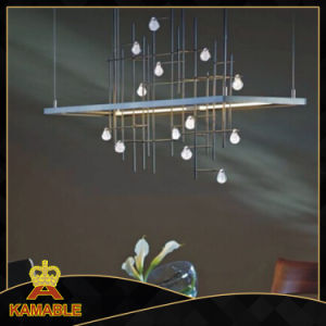 Modern Dining Table Metal Crystal Pendant Lamps (KAP6073) pictures & photos