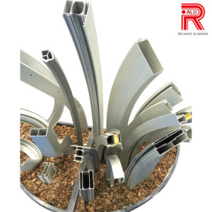 Aluminum/Aluminium Extrusion Profiles for Bend / Deep Processing / Fabrication pictures & photos