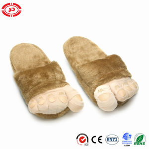 Plush Fluffy Soft Quality Warm Toes Funny Kids Slippers Shoe pictures & photos